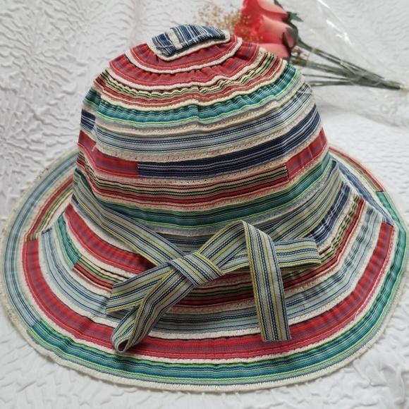 44e6b8c97 Jeanne Simmons Colorful Roller Ribbon Sun